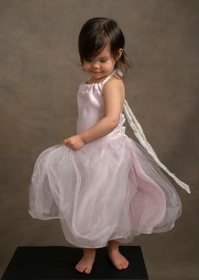 Child photographer in Charlotte, Baby Ballerina Dancer