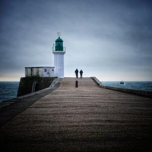 Le phare vert aux Sables d'Olonne