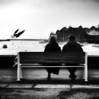 Une pause romantique