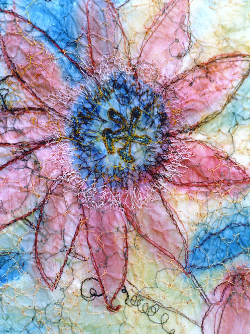 Passion Flower Note Card