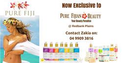 Exclusive toPure Fijian Beauty