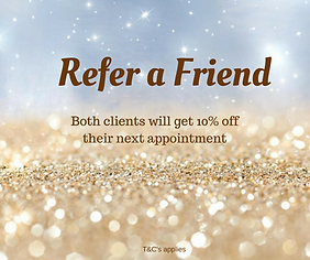 Loyalty discount at redbak plains.Refer a friend and get 10% off