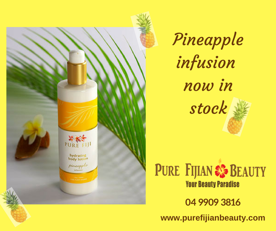 Pineapple infusion now in stock