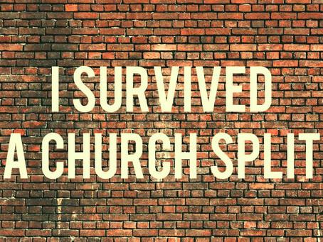 I Survived a Church Split
