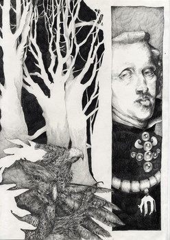 Part (III) of Habsburg Family Tree Triptych