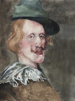 Study of 'Philip IV in Hunting Dress'