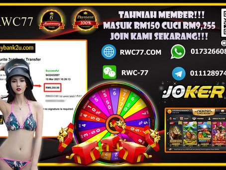 Tahniah member deposit Rm150 cuci RM9,255 dalam JOKER123!!! Game : Queen Of The Nile! Join Us NOW!!!