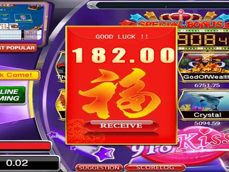 Tahniah member dapat ANGPOW RM182 dalam game 918KISS(SCR2)!! Member claim 1 FREE SPIN lagi!!!
