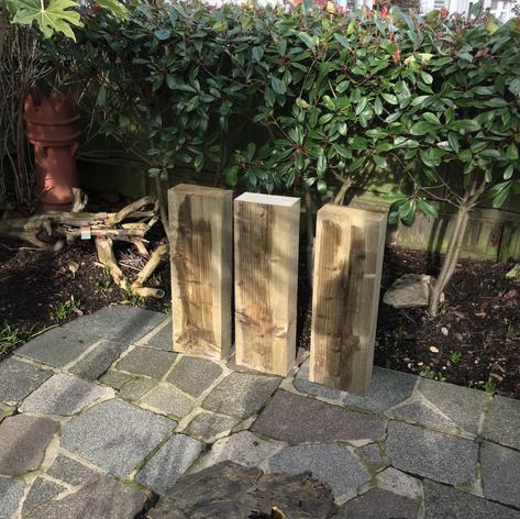 Cut Timber Sleepers