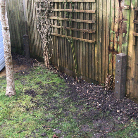 New Concrete Fence Spurs