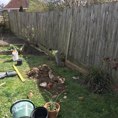 Concrete Fence Post Repair