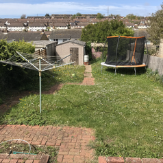 Garden tidy up.