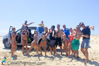 Séjour kitesurfeurs et kitesurfeuses célibataires autour d'une même passion