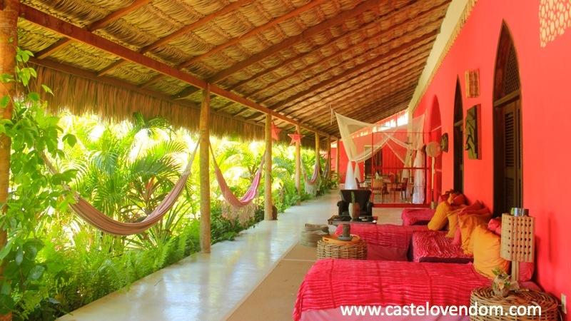 @ Castelo Vendom lounge terrace