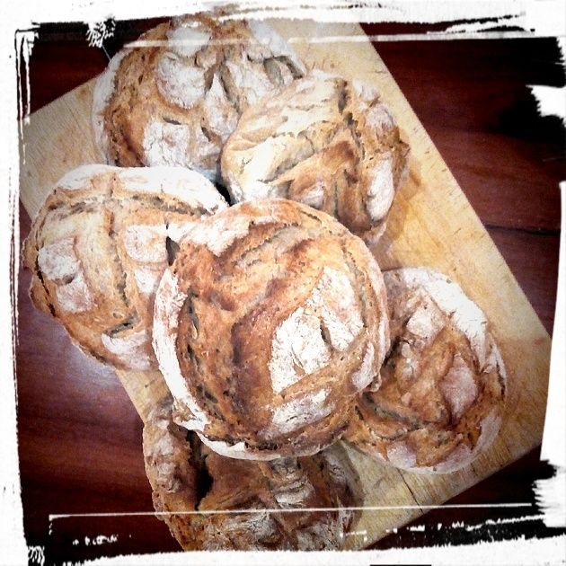home made bread Castelo Vendom