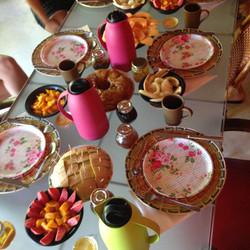 Castelo Vendom Breakfast