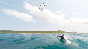 Kitesurfing - Sun - Small Fishes and Sunscreens