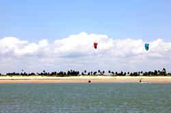 Parajuru Brazil kite surf spot