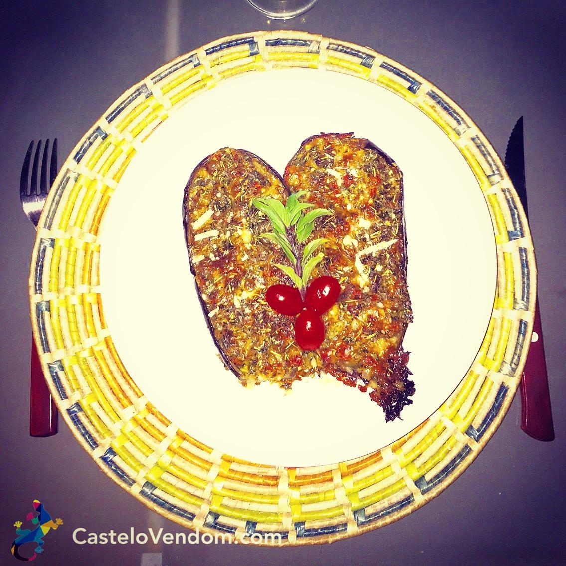 Castelo Vendom aubergines gratinées