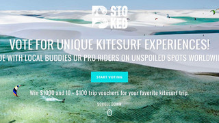 This year, win your kitesurf heaven!!