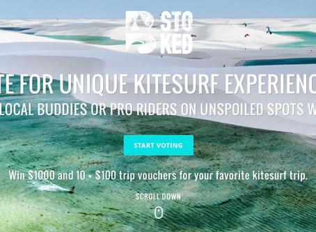 This year, win your kitesurf heaven!!