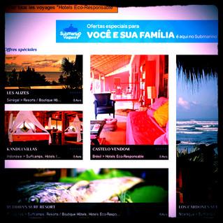 New referencing on destination-surf.com