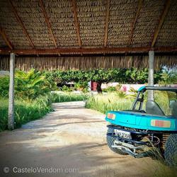 © Castelo Vendom garden and pool