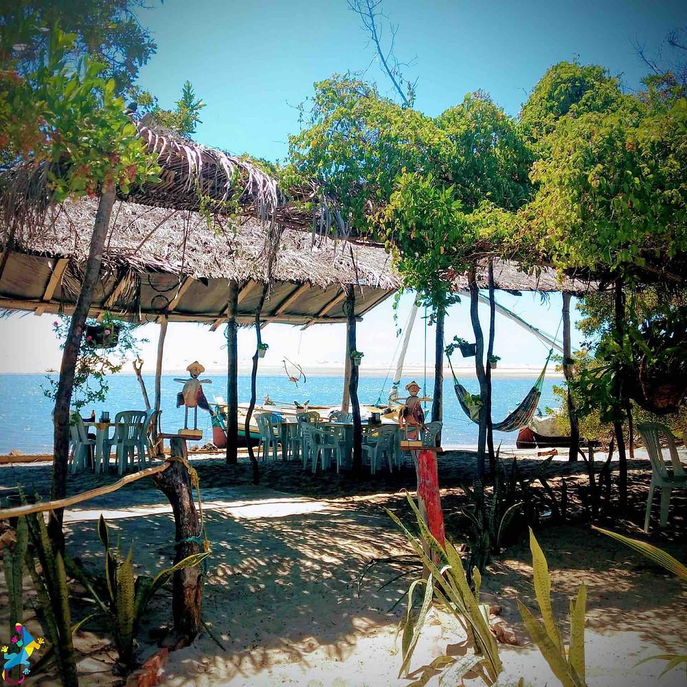 La Cabana sur la plage où déjeuner