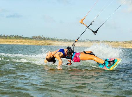 Coaching kite surf avec Laura Jaubert