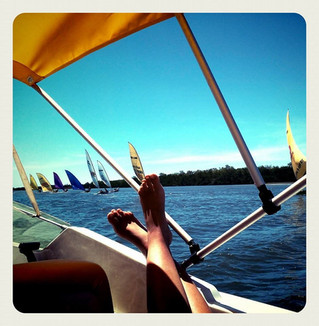Boat trip on Jaguaribe River