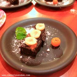 Castelo Vendôm chocolat cake