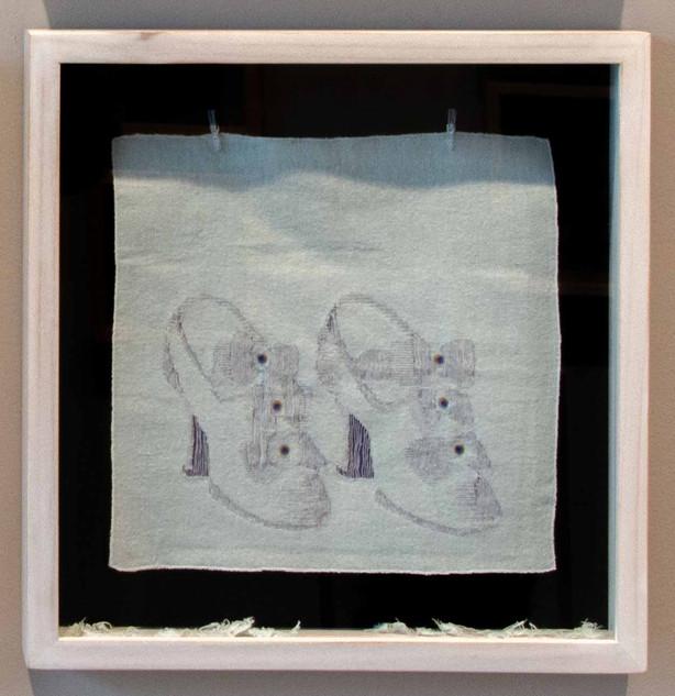 De la serie El Hilo De La Moda. Zapato 1.900