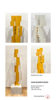 Post Ciudad Vientre - Obra de Juan Ricardo Mejía