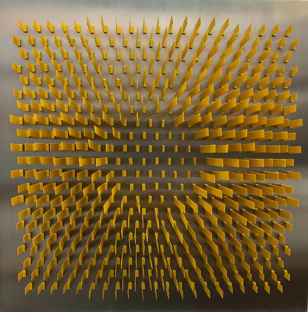 Sin título, de la serie Geometría volumétrica