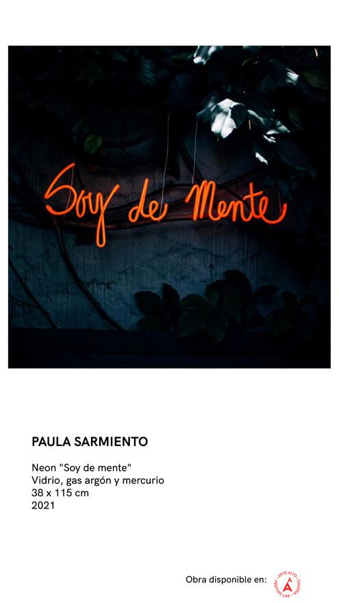 Neon - Soy Demente - Paula Sarmiento