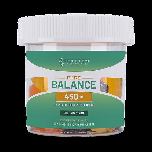 Pure Balancwe 450 mg full spectrum CBD gummies