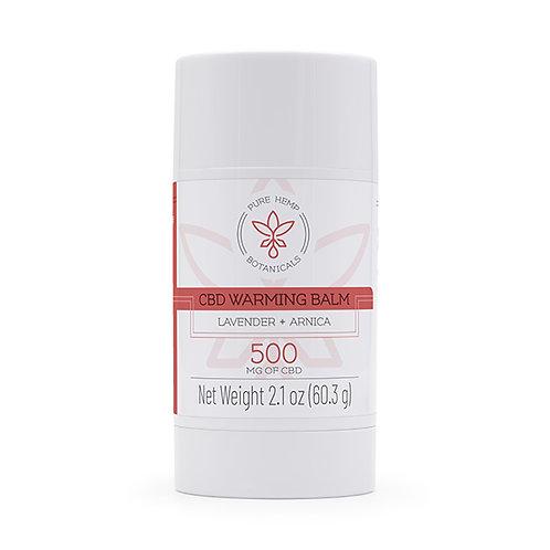 Warming Balm 500 mg CBD (2.1 oz stick)
