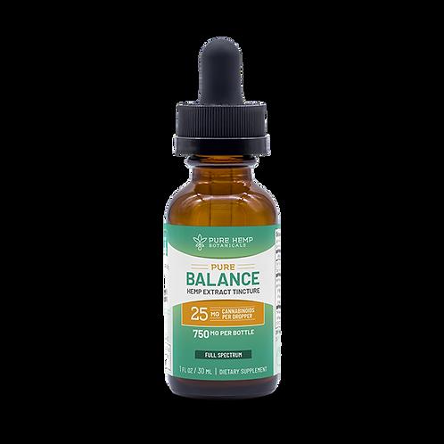 PHB Pure Balance Tincture 750 mg CBD Full Spectrum