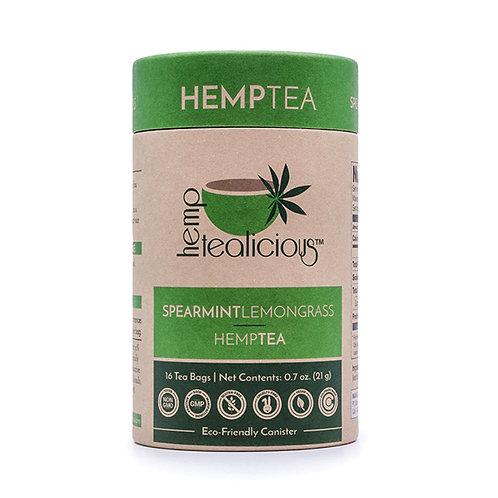 Hemptealicous  Spearmint Lemongrass Tea