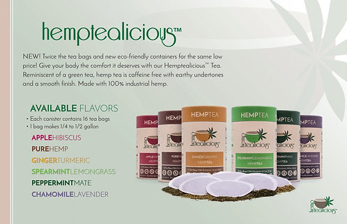 Hemp Tea - 16 tea bags