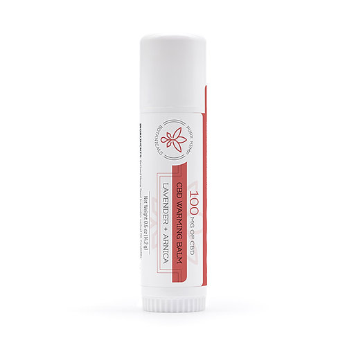 PHB Warming Balm Warmiung Balm 100 mg CBD - 0.5 oz stick