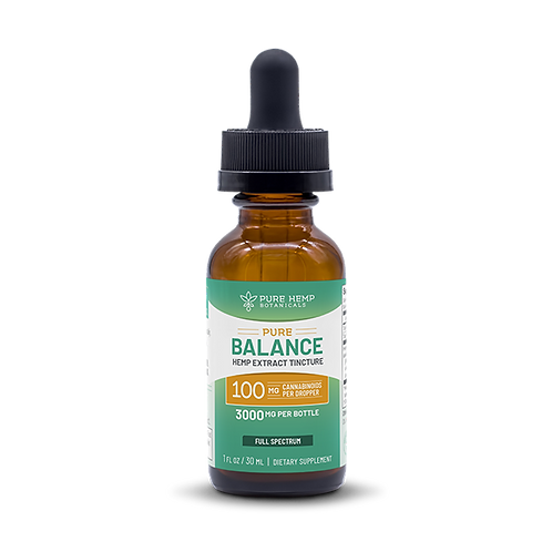 PHB Pure Balance Tincture 3,000 mg CBD Full Spectrum