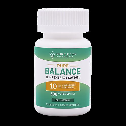 PHB Pure Balance Softgels 300 mg CBD (30-count,  Omg each)