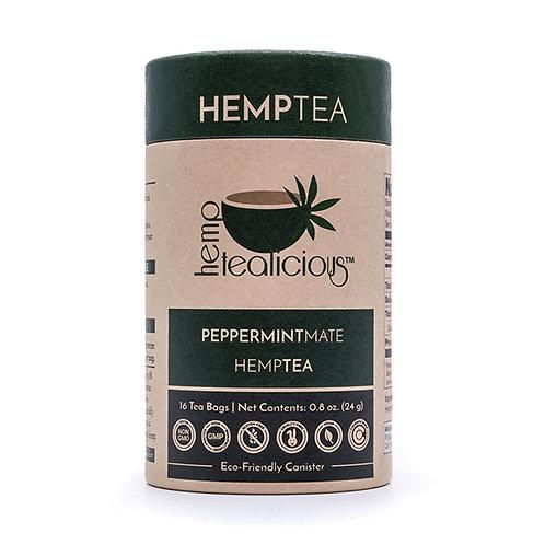 Hemptealicious Peppermint Mate Tea