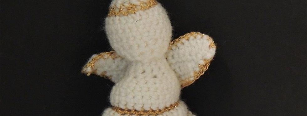 Christmas Ornament - Handmade Crochet Angel