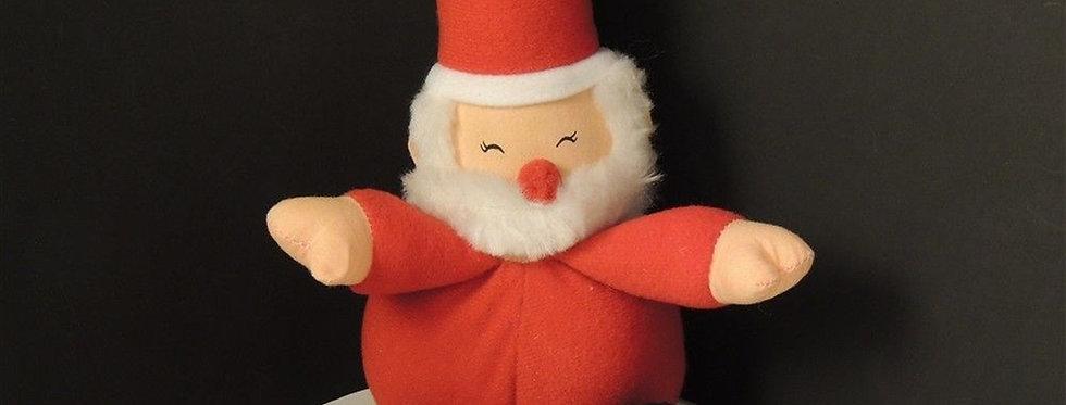 Christmas Decoration - Small plush Santa