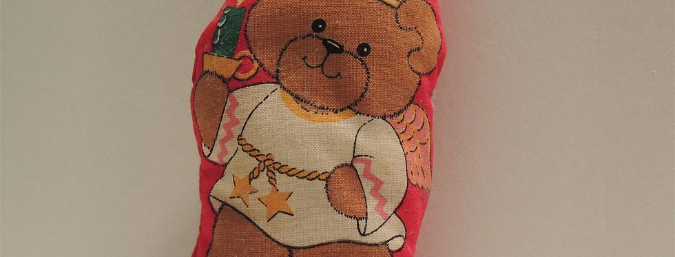 Christmas Discount - Plush Fabric Teddy Bear Angel Ornament