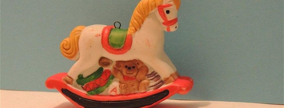 Christmas Ornament - Vintage Rocking Horse