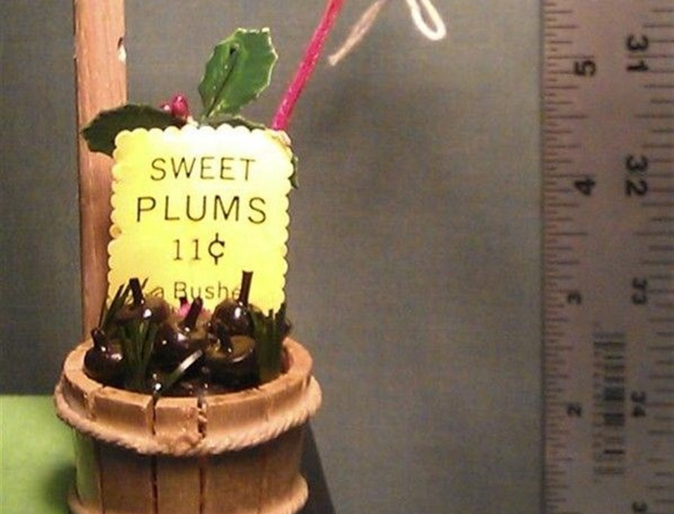 Christmas Ornament - Sweet plums