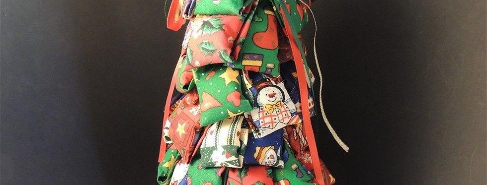 Christmas Decoration - Handmade Fabric tree